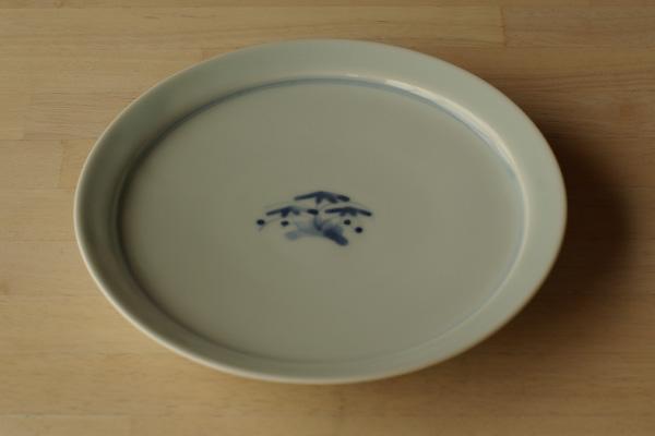 竹文6寸皿