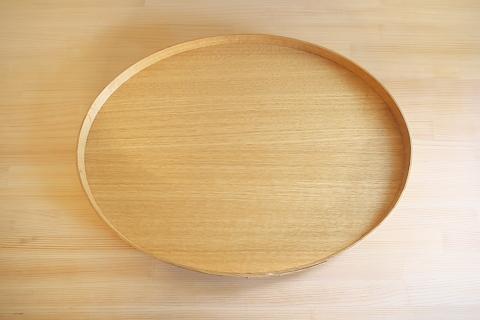 ナラ(大)26.5㎝ x 33.5cm x 2.7cm 9,180円