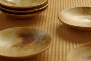 松村さんの七寸皿