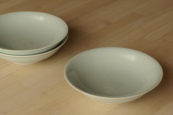 白磁5寸鉢